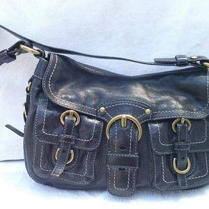 Coach legacy Garcia black leather handbag